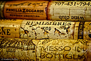 Wine Cork Collection Prints - Corky Print by Susan Herber