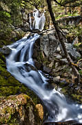 A A Framed Prints - Corlieu Falls Framed Print by A A