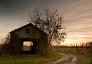 Corn Crib Photo Posters - Corn Crib Poster by Cale Best