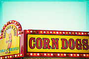 Fairgrounds Framed Prints - Corn Dogs Framed Print by Kim Fearheiley
