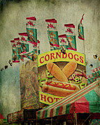 Corn Dogs Framed Prints - Corndogs Framed Print by Lana Trussell