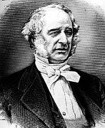 Financier Prints - CORNELIUS VANDERBILT (1794-1877). American financier. Line engraving, 19th century Print by Granger