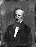 Sideburns Metal Prints - Cornelius Vanderbilt. Half Plate Metal Print by Everett
