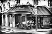 Outdoor Cafe Photo Prints - Corner Cafe Print by John Rizzuto