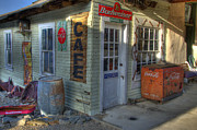 Corner Cafe Prints - Corner Cafe Randsburg California Print by Bob Christopher