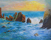 Natalya Shvetsky - Corona Del Mar Rocks