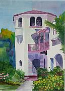 Spanish House Prints - Coronado Lady Print by Ally Benbrook