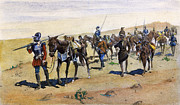 Discovery Paintings - Coronados March, 1540 by Granger