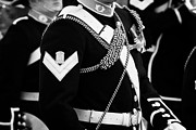 Rank Posters - corporal and bugler of the band of HM Royal Marines Scotland at Armed Forces Day 2010 Poster by Joe Fox