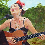 Compassion Paintings - Corrido by Bonnie Rinier