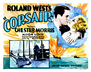 Arm Around Shoulder Posters - Corsair, Chester Morris, Thelma Todd Poster by Everett