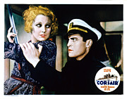 Chester Framed Prints - Corsair, Thelma Todd, Chester Morris Framed Print by Everett