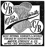 Corset Photos - Corset Advertisement, 1888 by Granger