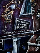 Stars Pastels Posters - CoRte ZamBelli - Contemporary Venetian Artist Poster by Arte Venezia