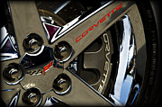 Custom Chevy Photos - Corvette Spokes II by Ricky Barnard