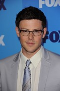Upfronts Tv Television Network Presentation Posters - Cory Monteith At Arrivals For Fox Poster by Everett
