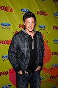 Cory Framed Prints - Cory Monteith At Arrivals For Fox Fall Framed Print by Everett
