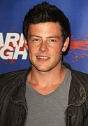 Cory Framed Prints - Cory Monteith At Arrivals For Shark Framed Print by Everett