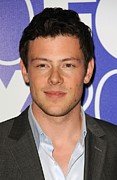 Programming Posters - Cory Monteith In Attendance For Fox Poster by Everett