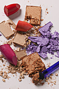 Makeup Photos - Cosmetics Mess by Garry Gay