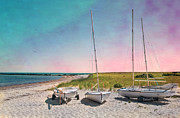 Meteor Prints - Cosmic Cape Cod Print by Robin-lee Vieira