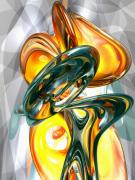 Infinite Prints - Cosmic Flame Abstract Print by Alexander Butler