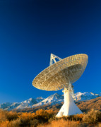 Telescopes Prints - Cosmic microwave telescope 3 Print by David Nunuk