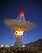 Owens Valley Art - Cosmic Microwave Telescope, Owens Valley, by David Nunuk