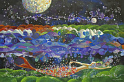Cosmic Painting Originals - Cosmic Ocean by Manami Yagashiro