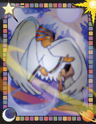 Annunciation Digital Art Framed Prints - Cosmic Oratorio Framed Print by Merrill Miller