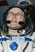 March Photos - Cosmonaut Charles Simonyi, Space Tourist by Ria Novosti