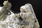 Astronauts Art - Cosmonaut Participates In A Session by Stocktrek Images