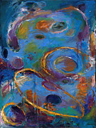 Outer Space Abstract Paintings - Cosmos 237 by Johnathan Harris