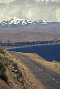 Andes Metal Prints - Costal Road at Lake Titicaca Metal Print by Will & Deni McIntyre