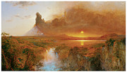 Fine American Art Prints - Cotopaxi Print by Frederick Edwin Church