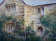 Picturesque Pastels Originals - Cotswold Cottage by Mark Whittaker
