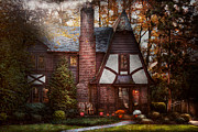 Charming Cottage Photo Prints - Cottage - Westfield NJ - A place to retire Print by Mike Savad