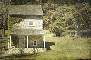 Frame House Photos - Cottage Charm by Andrea Hazel Ihlefeld