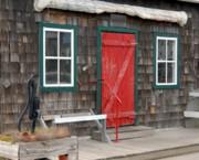 Cottage Door Print by Joyce StJames
