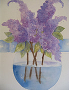 Carol Bruno - Cottage Lilacs
