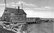 Winthrop Prints - Cottage Park Yacht Club 1902 Print by Extrospection Art