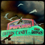 Candy Digital Art - Cotton Candy by Gothicolors And Crows