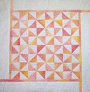 Featured Tapestries - Textiles Originals - Cotton Candy Pinwheels by Pam Geisel