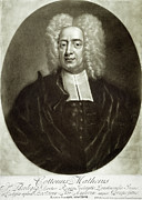 Men Drawings Framed Prints - Cotton Mather 1663-1728 Framed Print by Granger