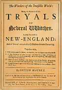 Puritan Framed Prints - Cotton Mather, 1693 Framed Print by Granger