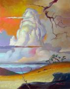 Thunderheads Art - Cottonwood Clouds 3 by John Norman Stewart