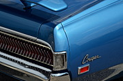 Blue Buick Photos - Cougar by Robert Harmon