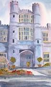 Stately Home Paintings - Coughton Court West Midlands by Trudy Kepke