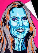 Politics Paintings - Coulter by Dennis McCann