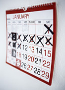 Wall-mounted Posters - Counting The Days Poster by Ian Boddy